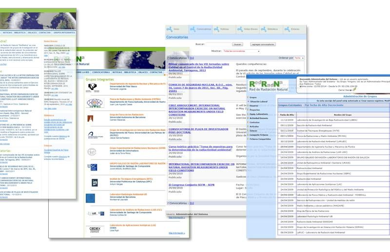 Sitio Web RedRadNa | Universidad de Cantabria