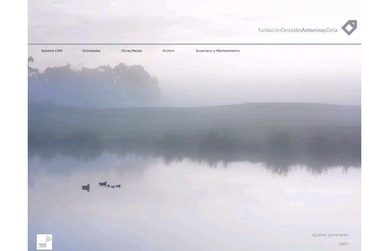 Sistema de información | Fundación Cerezales Antonino y Cinia