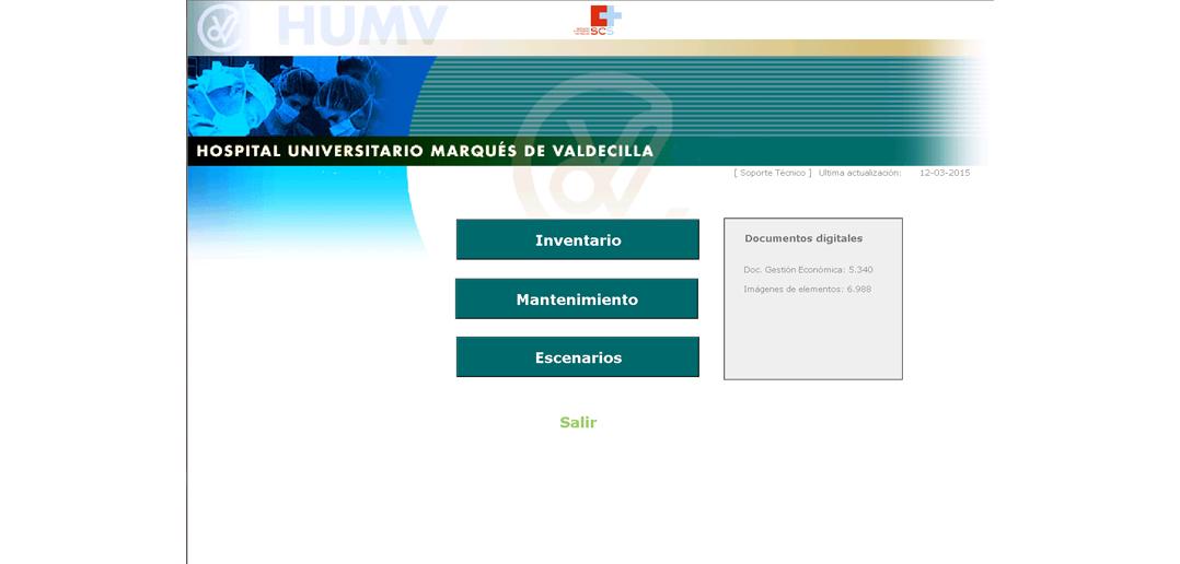Aplicación de Gestión de Inventario | Hospital Universitario Marqués de Valdecilla