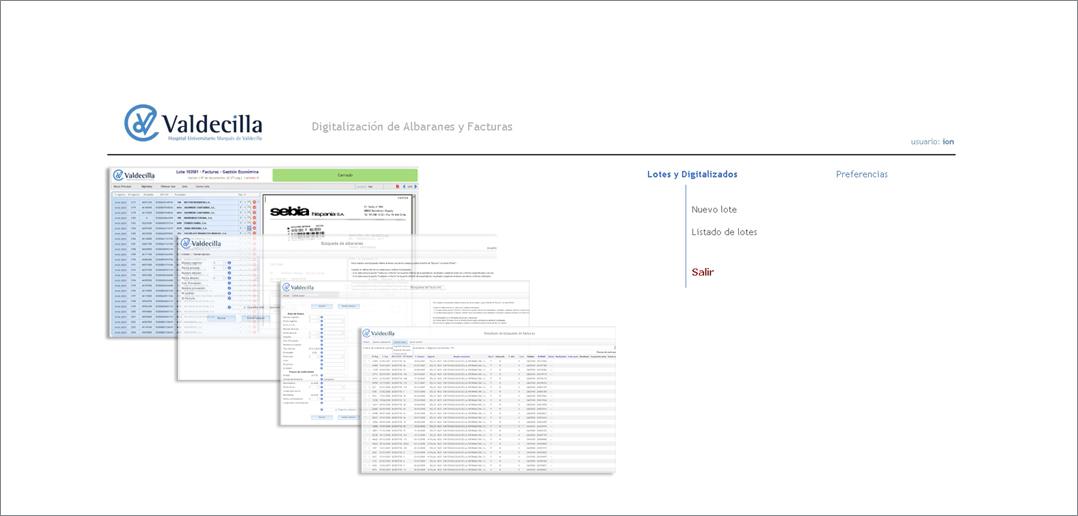 Sistema de Digitalización y Gestión Documental | Hospital Universitario Marqués de Valdecilla