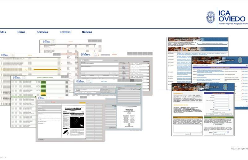 Sistema Informático de Gestión y Distribución de Contenidos Bibliográficos | Ilustre Colegio de Abogados de Oviedo