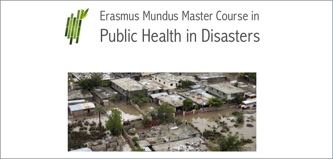 Sitio web Máster Erasmus Mundus en Salud Pública en Desastres | Universidad de Oviedo