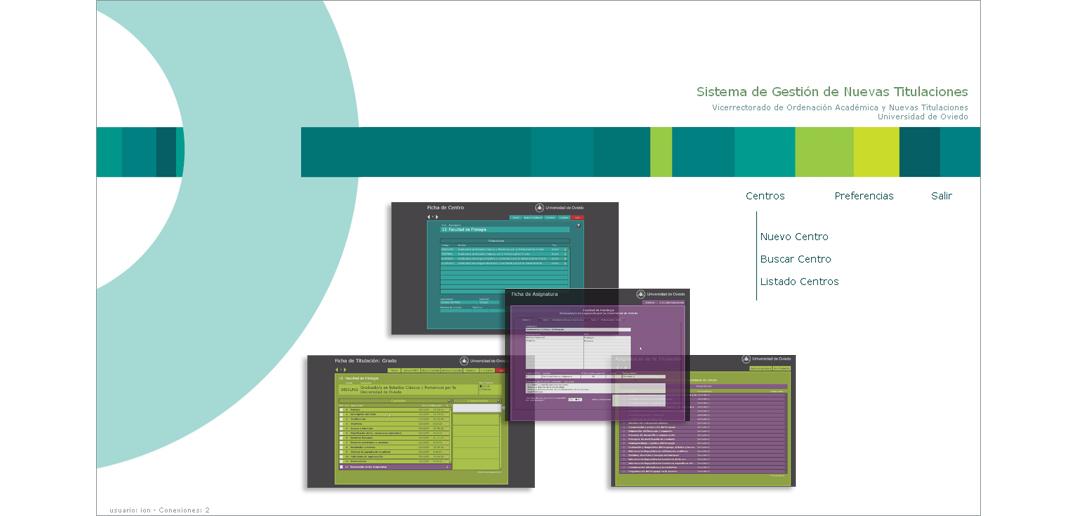Sistema de gestión de documentación relativa a nuevas titulaciones | Universidad de Oviedo